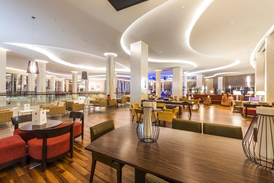 Hotel, Turkey reception interior
