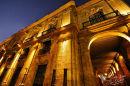 Plaza de Armas at night