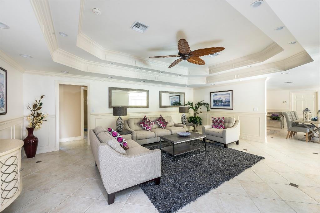 Floridian reception interior