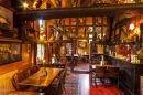 old English pub interior
