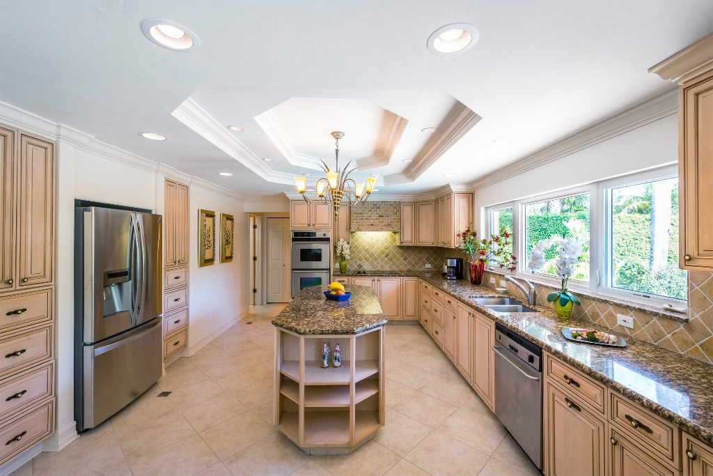 Floridian kitchen interior