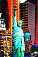 Statue of Liberty in Las Vegas at New York, New York hotel