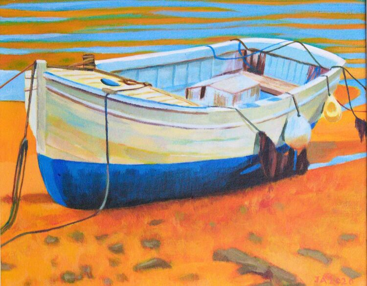 AJ 05 Gorey Boat A4
