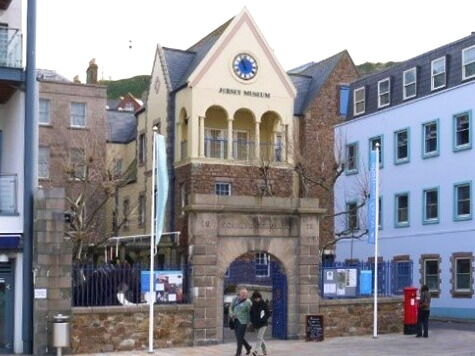 Jersey Museum entrance