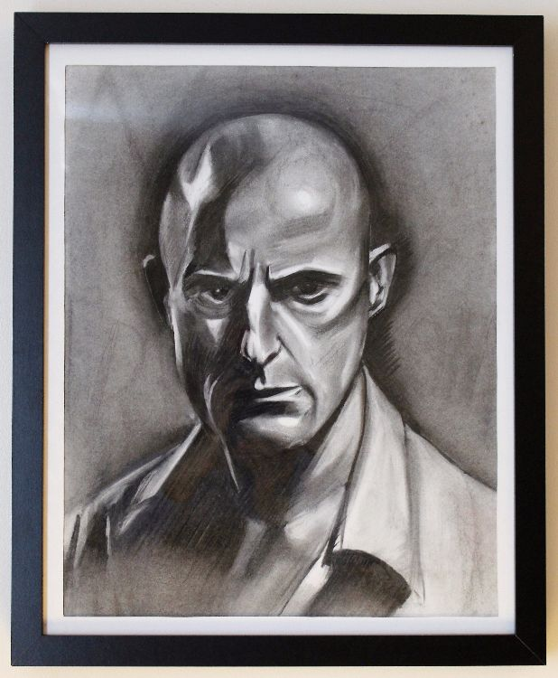Mark Strong A2 charcoal