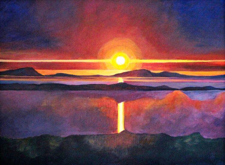 A 26 Sunset A3