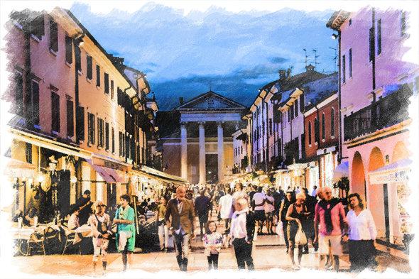 Downtown Bardolino
