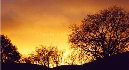 Sunset over Ket