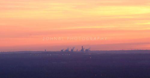 Stanlow Sunset
