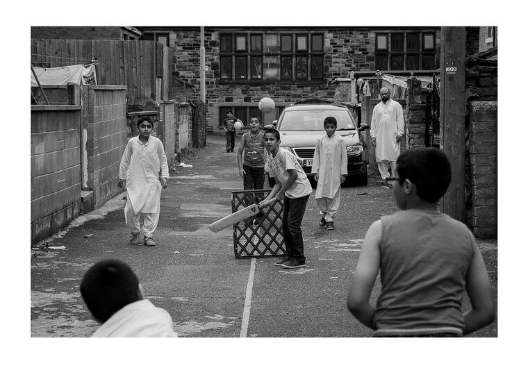 Street Cricket A4 print