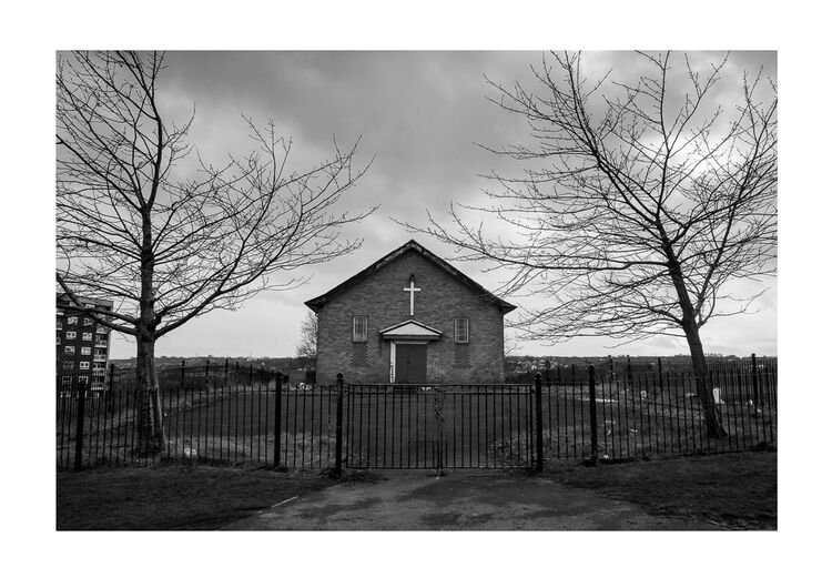 Church A4 print
