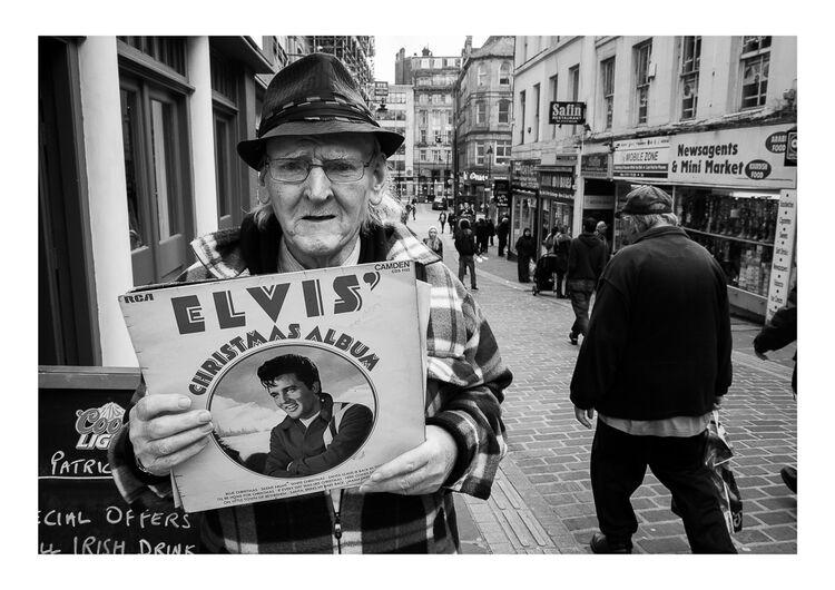 Elvis Man A4 print