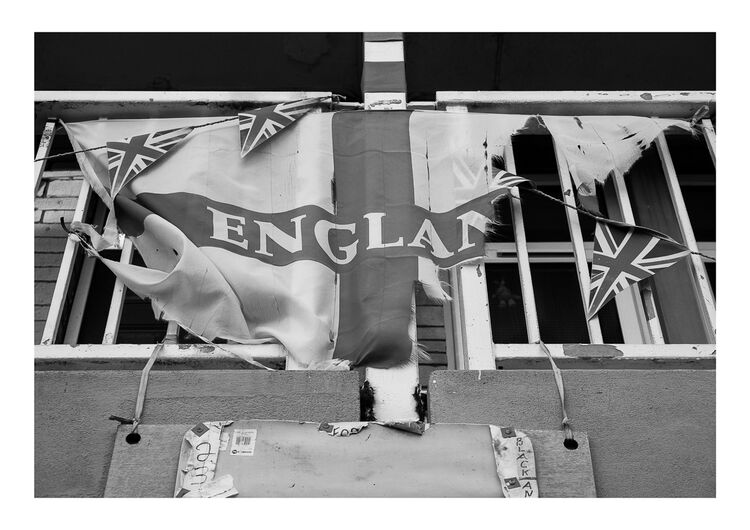 England Flag A4 print