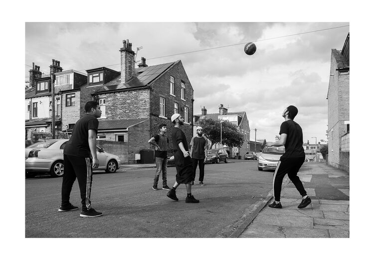Street Football A4 print