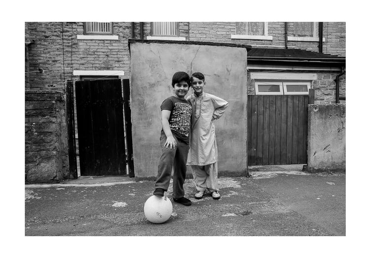Kids with Ball A4 print