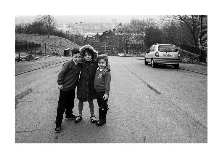Eastern European Kids A4 print