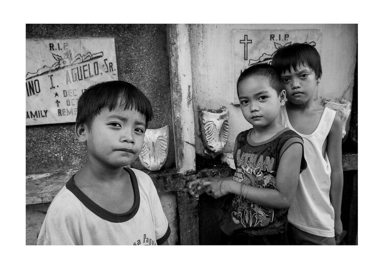 Manila Boys A4 print
