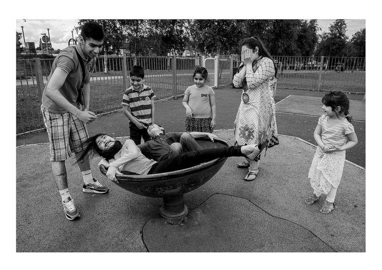 Playground Kids A4 print