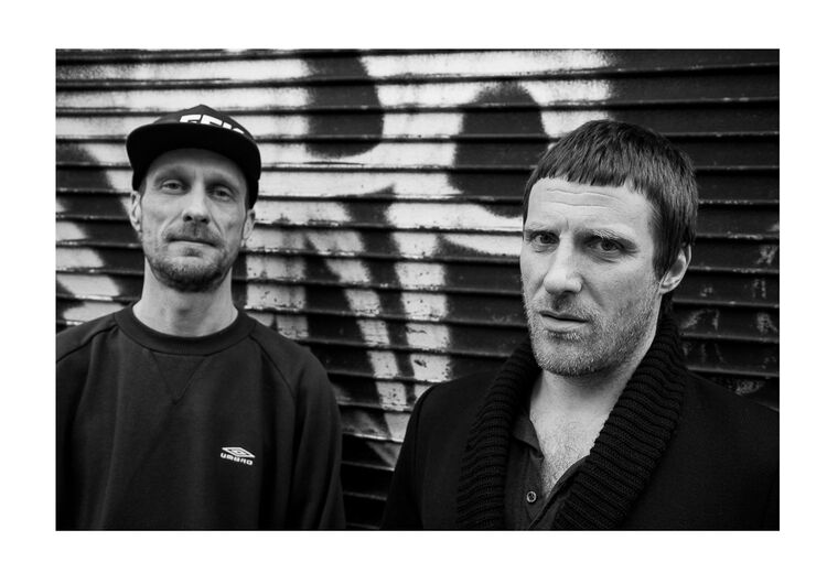 Sleaford Mods March 2014 A4 print