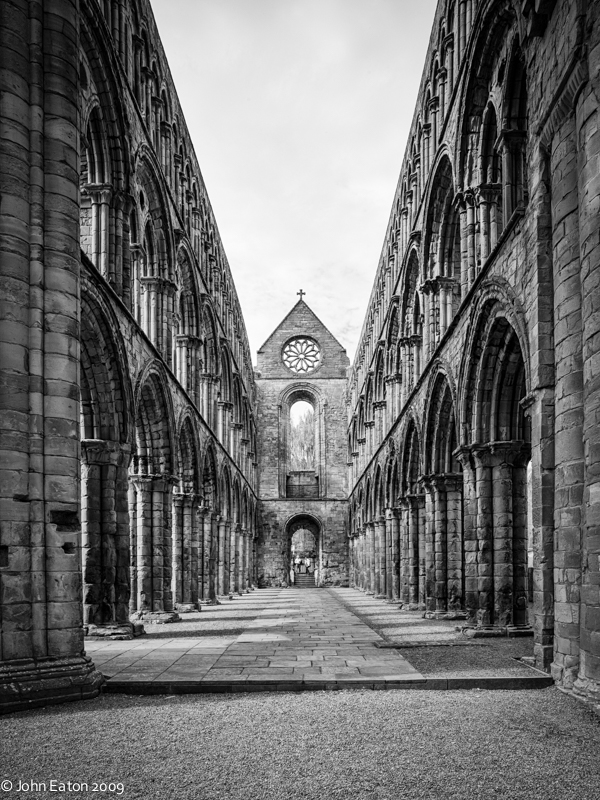 Jedburgh, Nave, Looking West