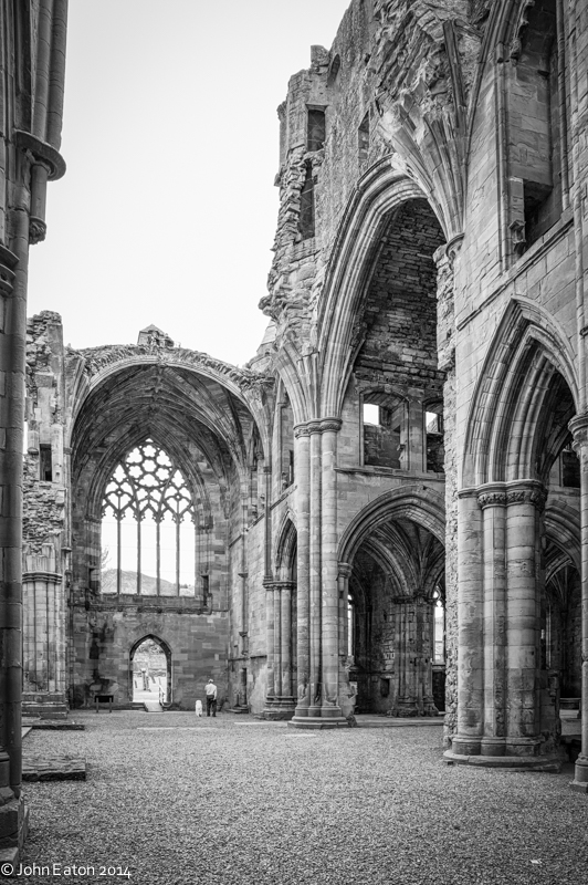 Melrose, South Transept