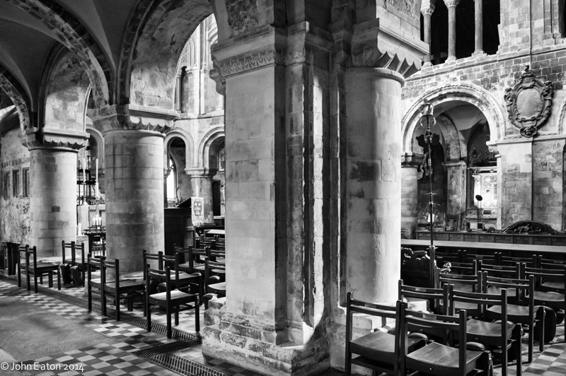 Quire from South Aisle