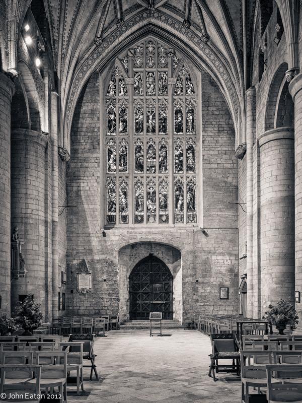 Tewkesbury, West Window and Door