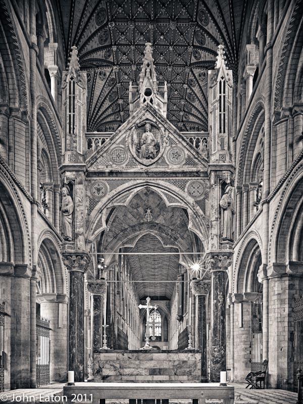 Altar, Looking West