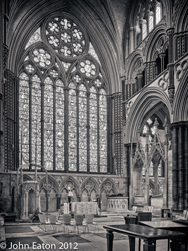 Angel Quire and East Window