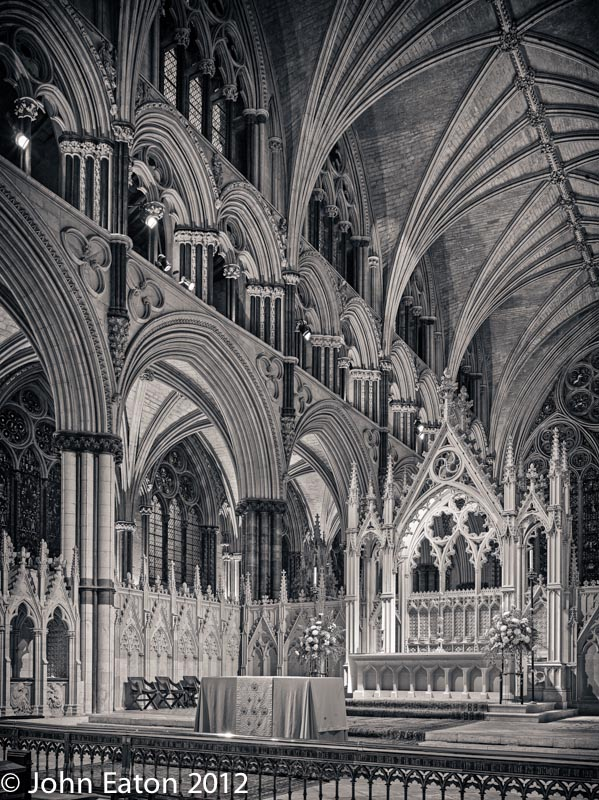 Angel Quire and High Altar