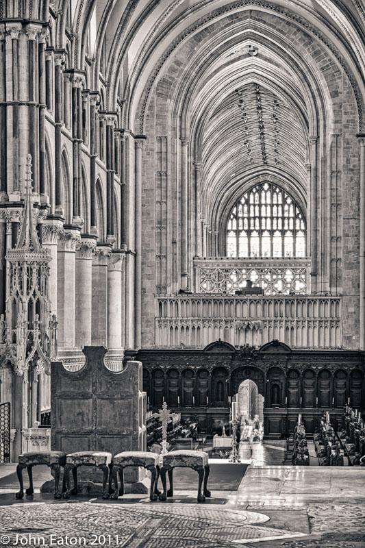 Throne, Quire and Nave