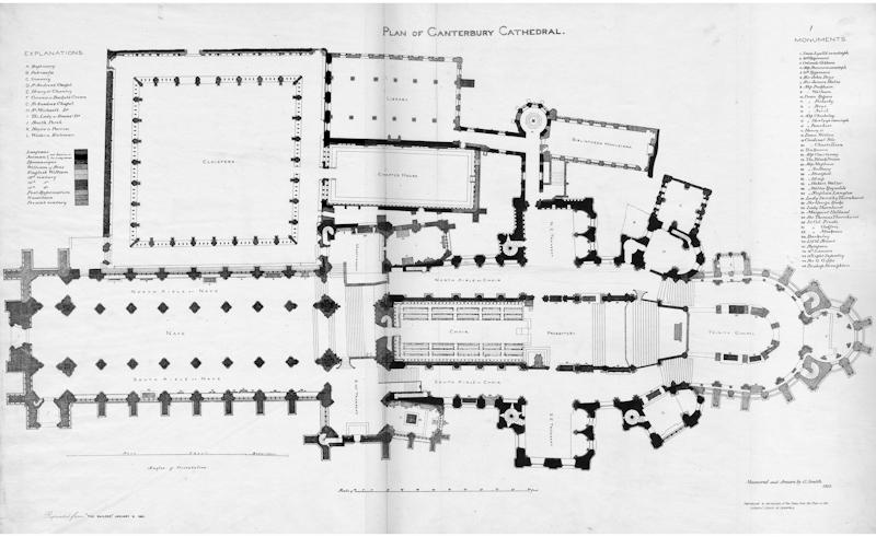 Canterbury, Floor Plan