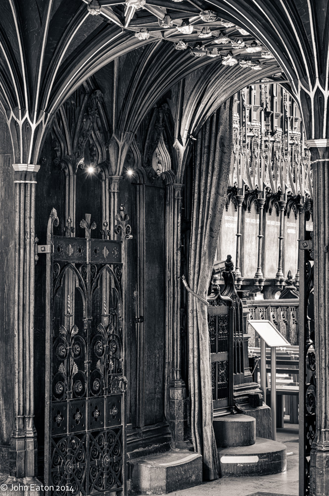 Entrance to Quire