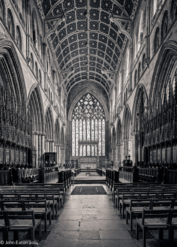 Quire, Presbytery & East Window