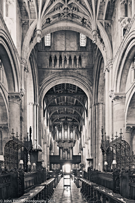 Quire , Looking West