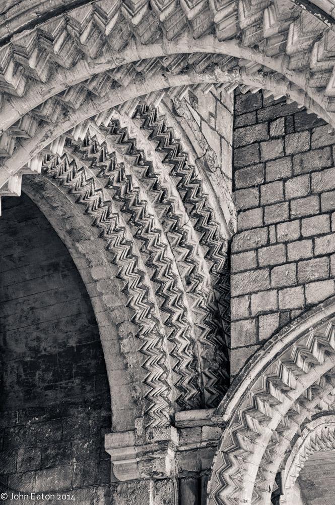 Chevron Arches, Galilee Chapel