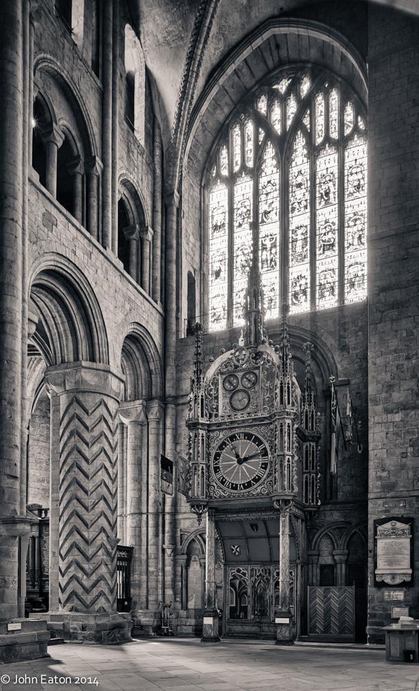 South Transept, Clock