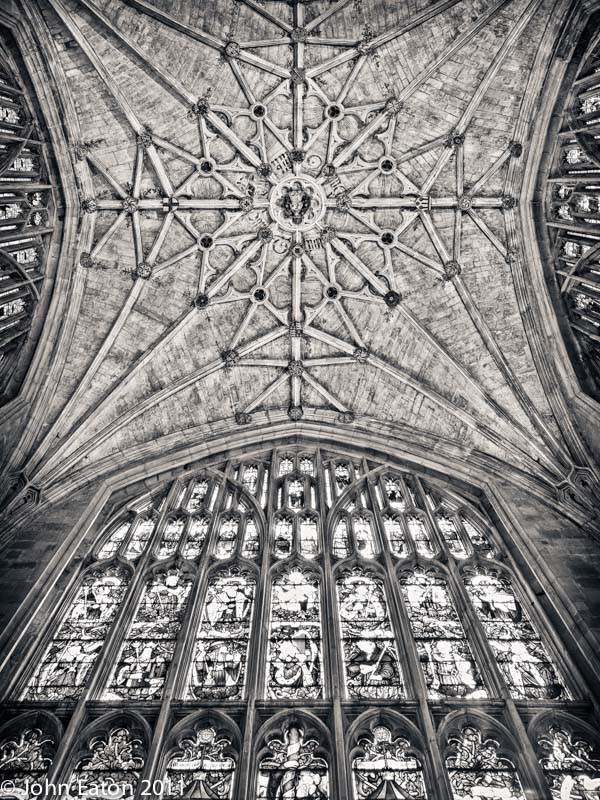 East Window and Lady Chapel Vault