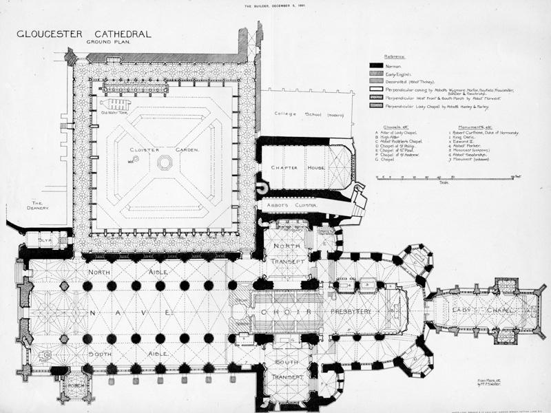Gloucester, Floor Plan