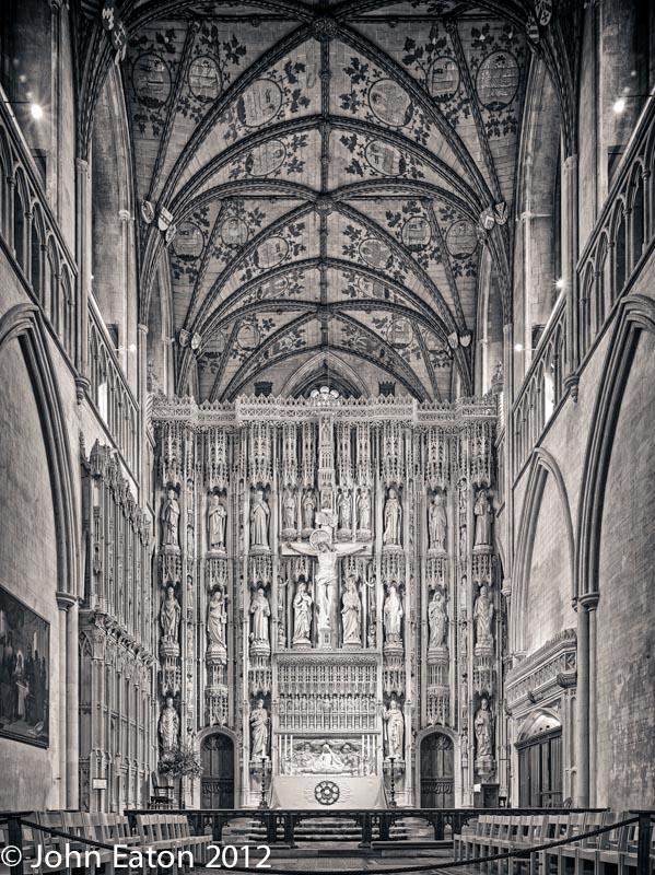 Presbytery, Reredo and Vault