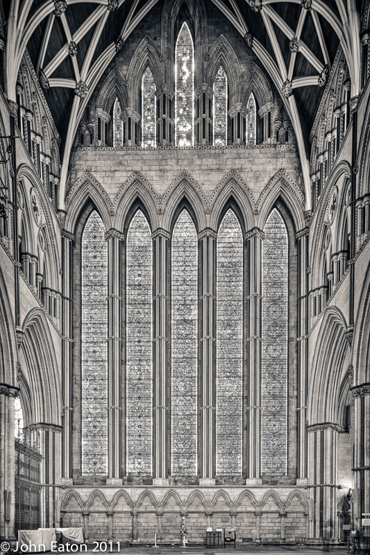 North Transept, the Five Sisters