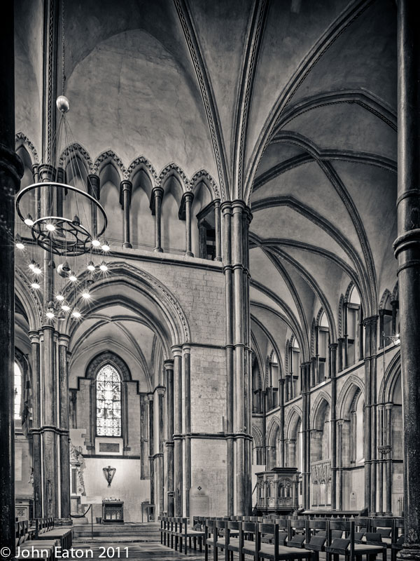 North-East Transept and Presbytery