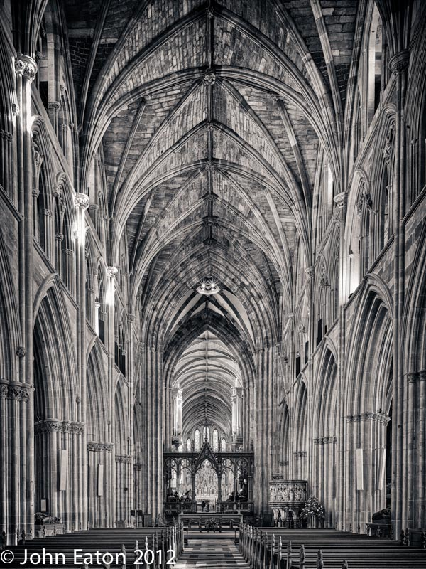 Nave, Looking East