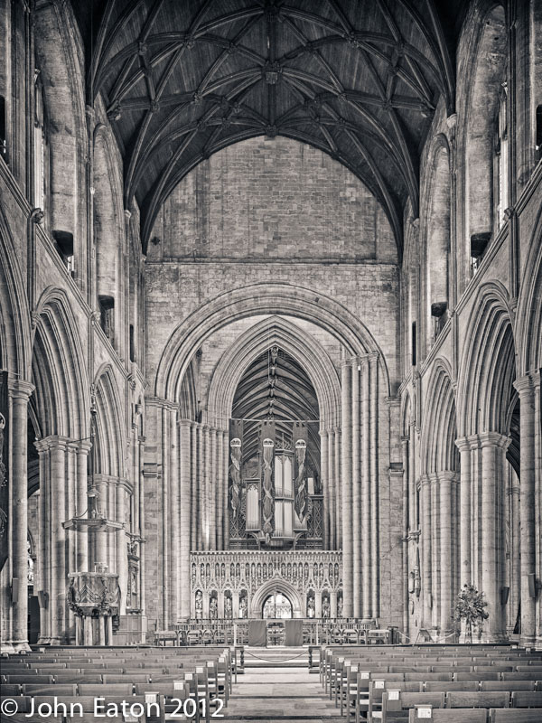 Nave and Pulpitum