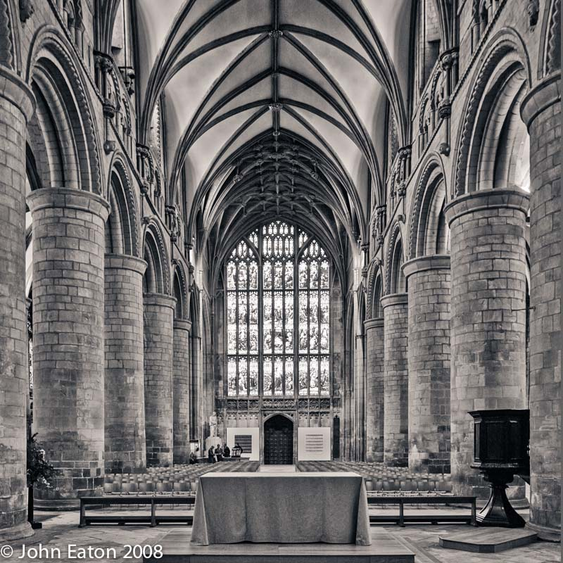 Nave, Looking West