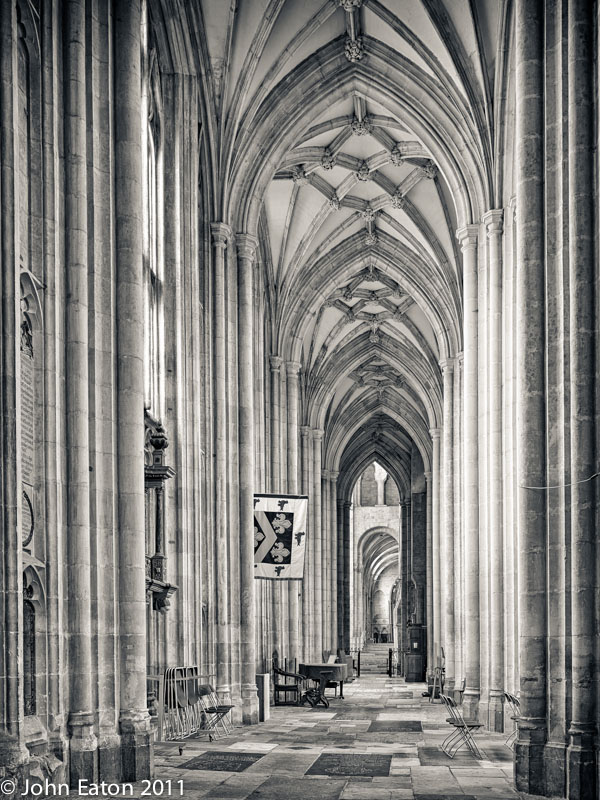 Nave, North Aisle Looking East