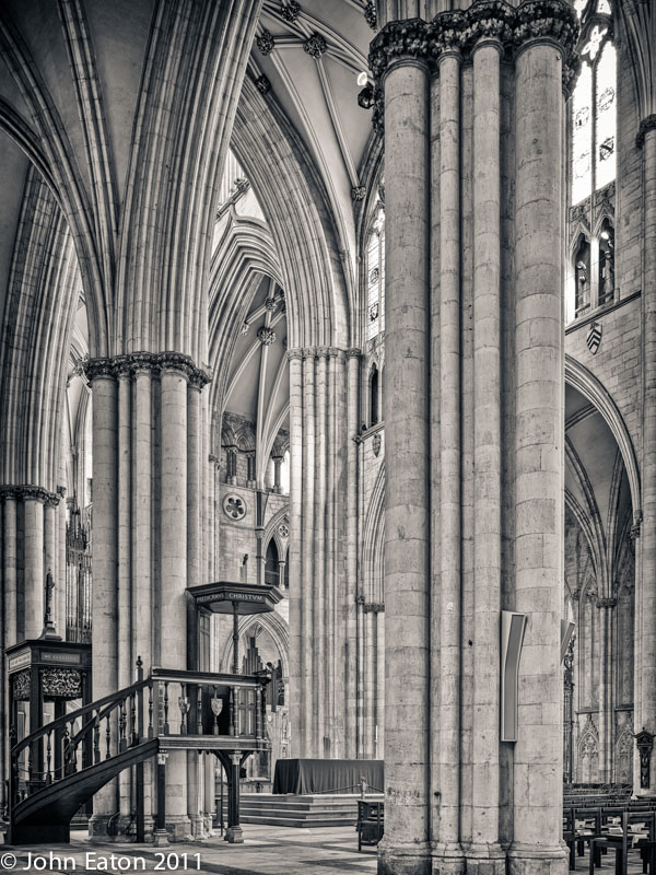 Nave, Pulpit and Crossing