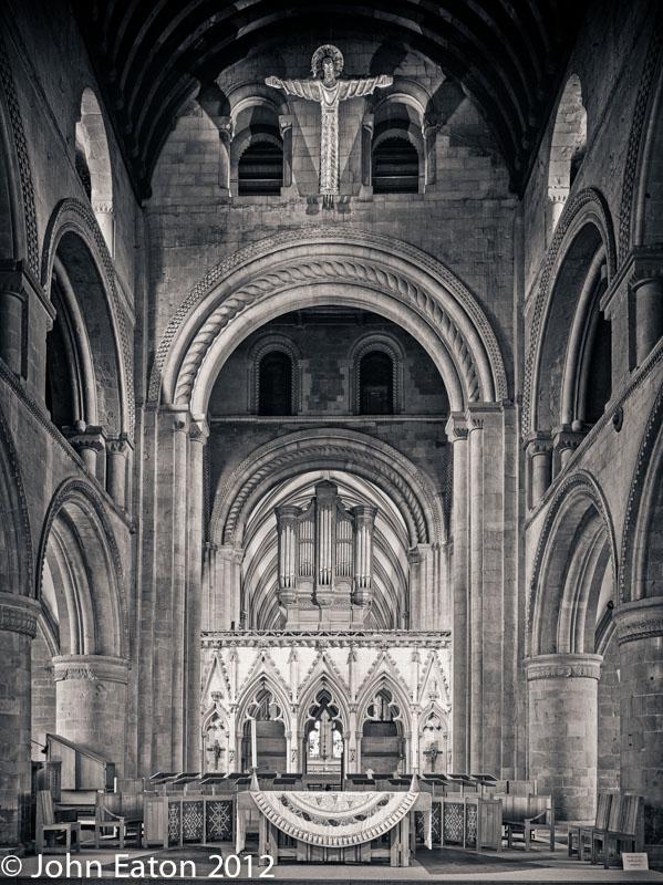 Nave, Pulpitum and Organ