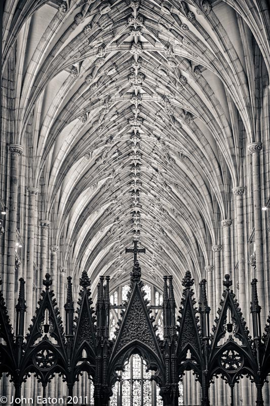 Nave Vault from Quire
