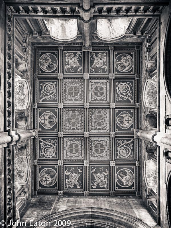 North Transept Ceiling